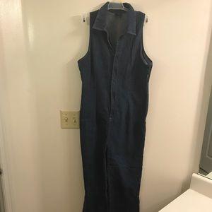 Vintage Jean Jumpsuit